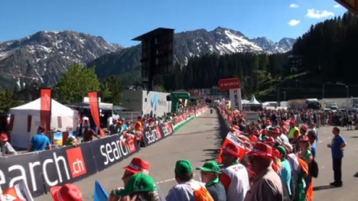 Arosa an der Tour de Suisse